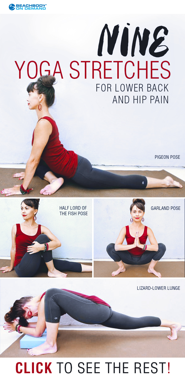Stretches for Hip Pain and Lower Back Pain