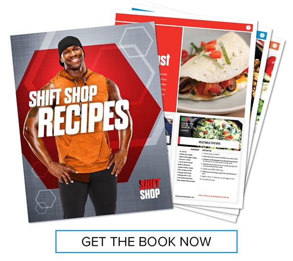 SHIFT SHOP Recipe Booklet