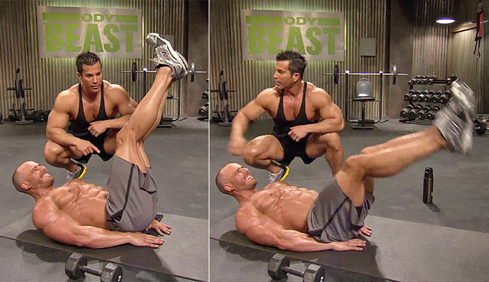 best abs exercises men and woman body beast sagi kalev