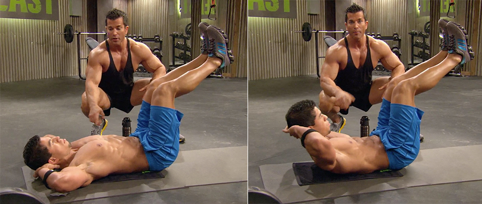 best abs exercises men and woman crunch body beast sagi kalev