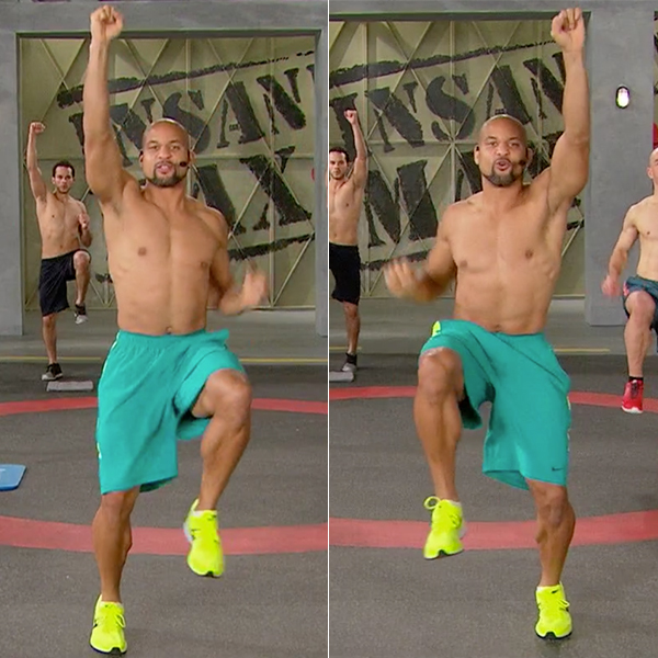 Best Abs Exercises Men And Woman Standing Mountain Climber Shaun T Insanity Max 30