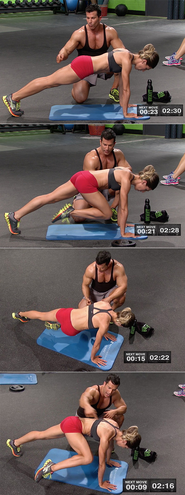 best abs exercises men and woman mountain climber twist spiderman masters hammer and chisel sagi kalev