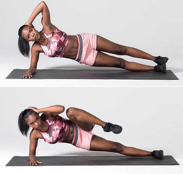 7 of the Best Oblique Exercises for a Strong Core oblique crunch