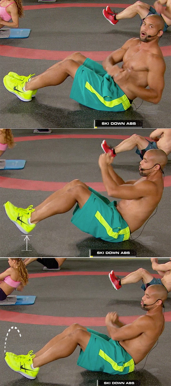 best abs exercises men and woman ski abs shaun t insanity max 30