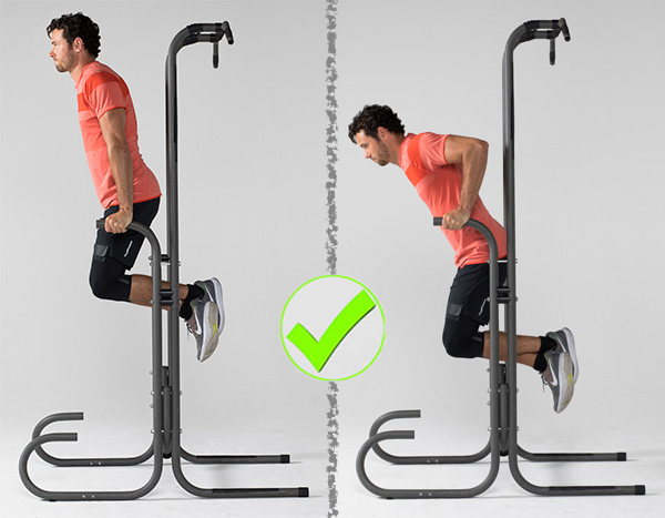 7 Exercises People Usually Do Wrong - Dips Correct