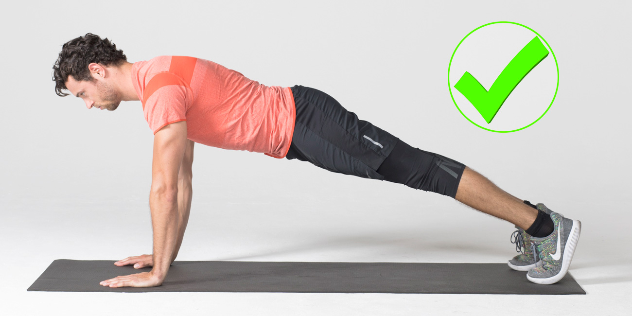 7 Exercises People Usually Do Wrong And How to Correct Them pushup right