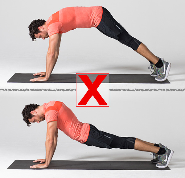 7 Exercises People Usually Do Wrong And How to Correct Them pushup wrong