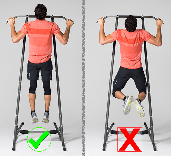 7 Exercises People Usually Do Wrong And How to Correct Them pullup