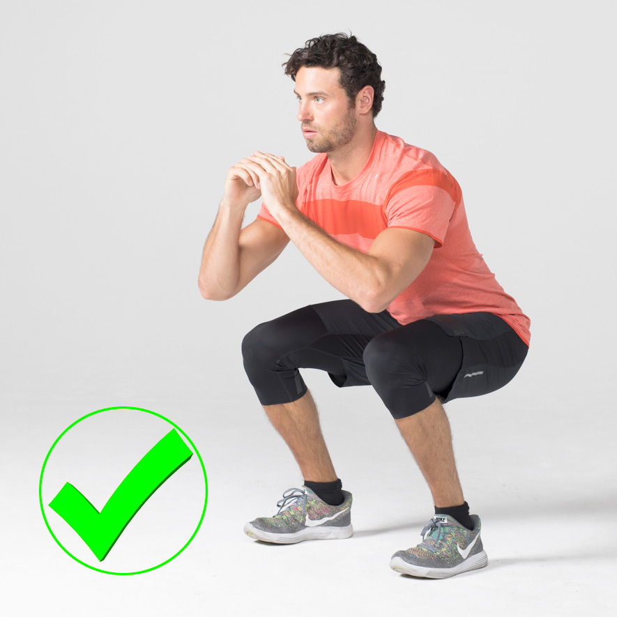 7 Exercises People Usually Do Wrong And How to Correct Them squat right