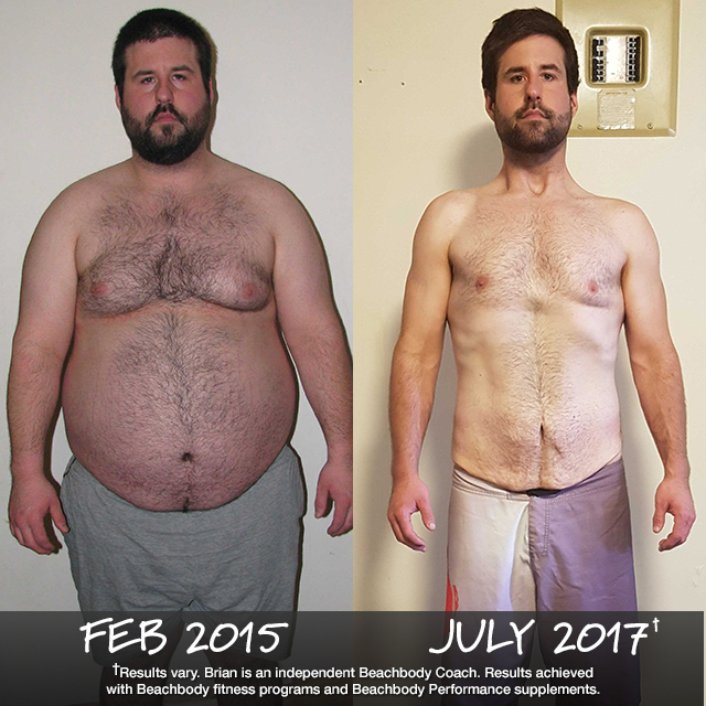 Brian Tavares Lost 120 Pounds