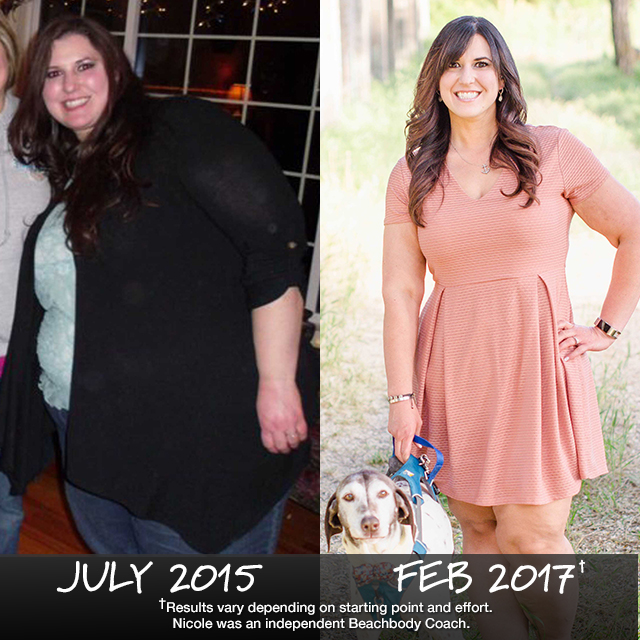 Nicole Ferrigno Lost 139.1 Pounds