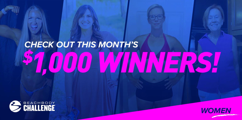 Four Award-Winning Female Fitness Transformations