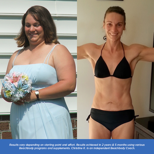 Christine K Results People Who Lost 100 Pounds or MORE