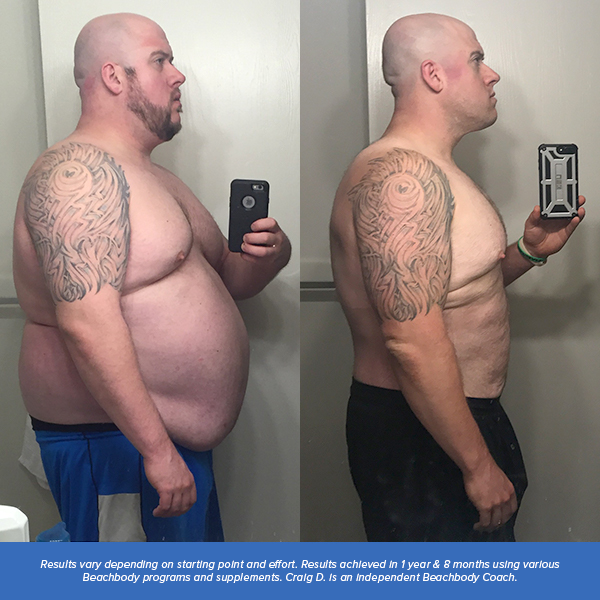 Beachbody results, T25 results, Body Beast results, before and after
