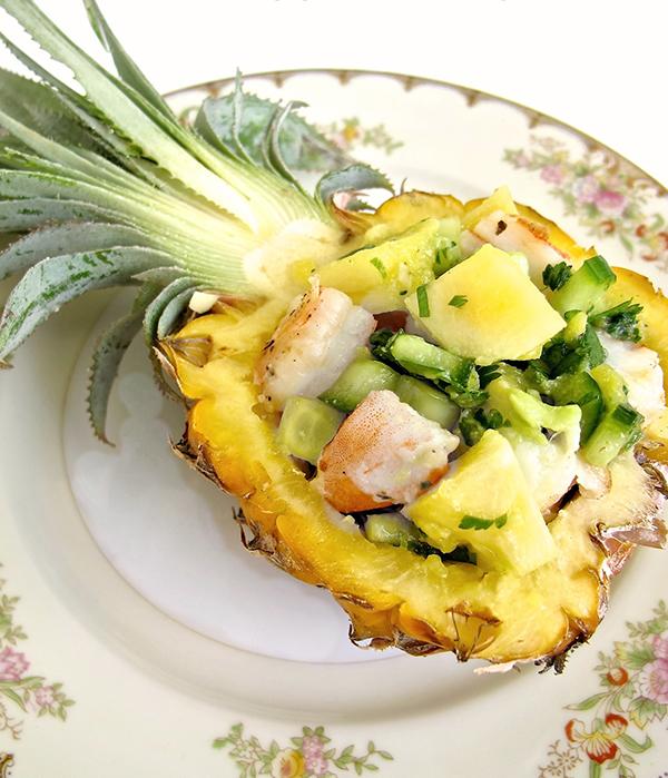 Pineapple Shrimp Salad - Hawaiian Recipes