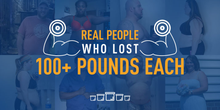 These People Lost 100 Pounds or More — Each!