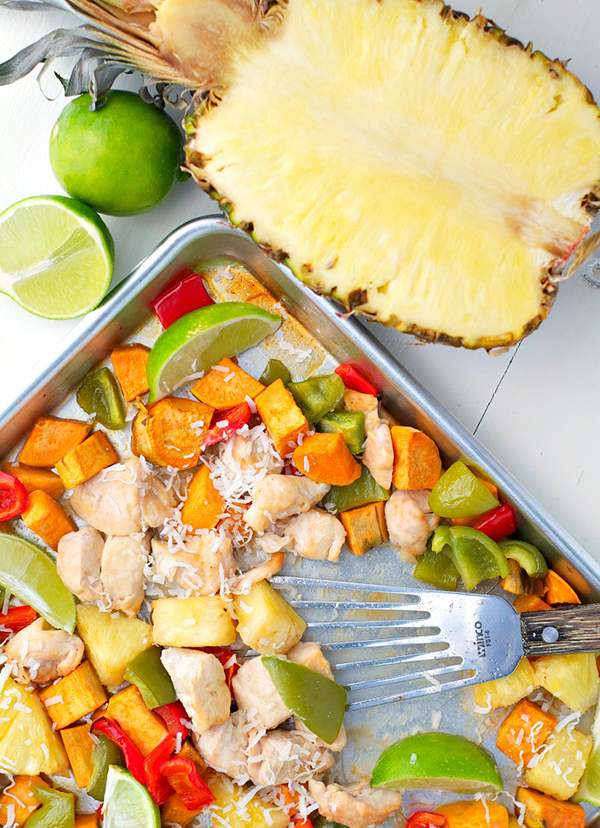 Hawaiian Recipes Sheet Pan Supper