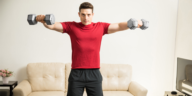 10 Best Shoulder Exercises For Your Home Workout