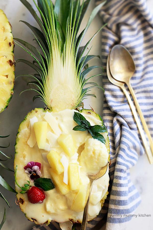 Pineapple Ice Cream