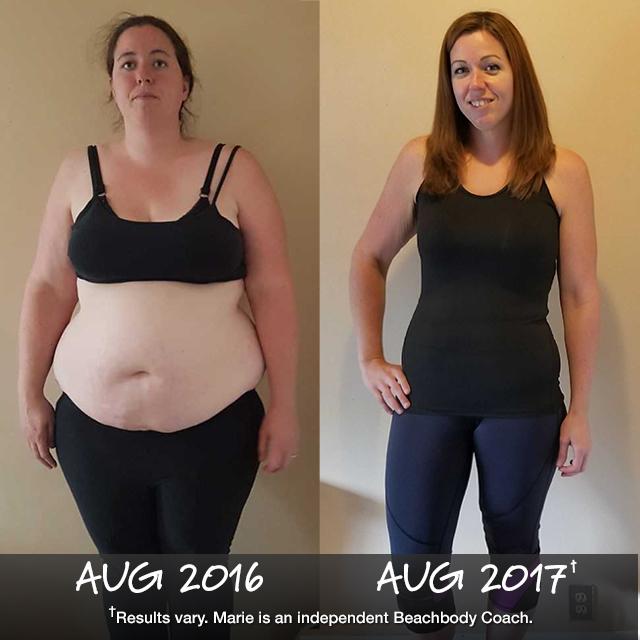 Marie-Pierre Rauzon Lost 105 Pounds