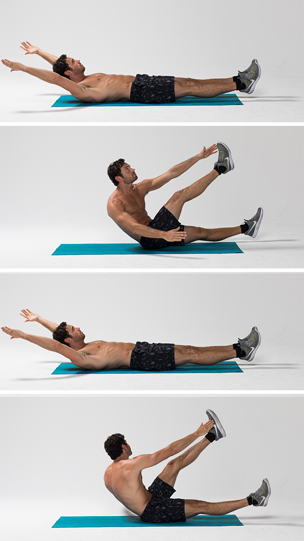 Best Ab Exercises - Alternating V-Up