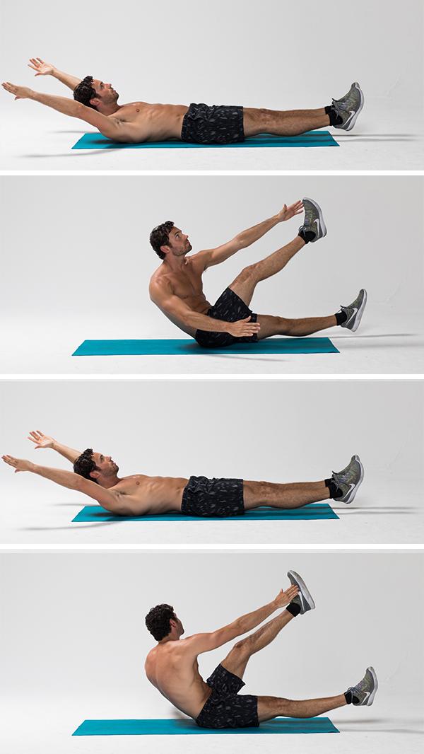 Best Ab Exercises - Alternating V-Up