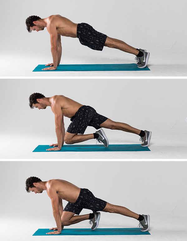Best Ab Exercises - Mountain Climber