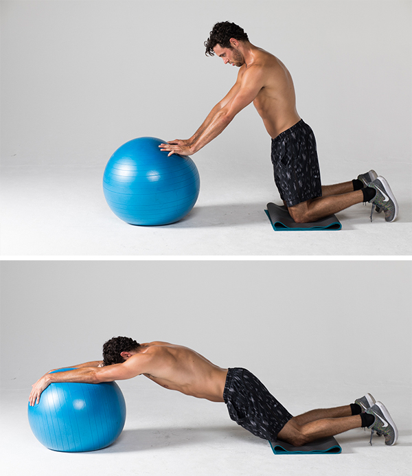 Best Ab Exercises - Stability Ball Rollout