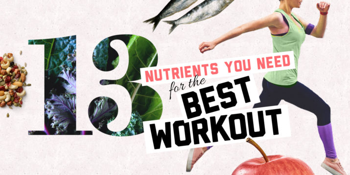 Pomegranate, Curcumin, and 11 More Nutrients to Help You Get the Best Workout