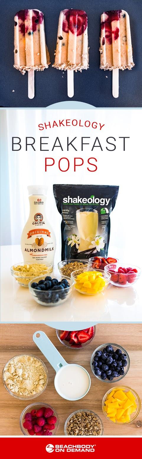 Shakeology Breakfast Pops