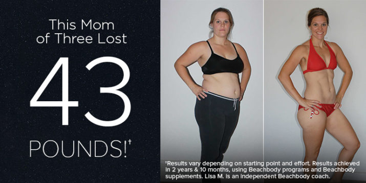This Mom of 3 Lost 43 Pounds