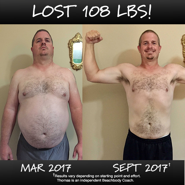 Thomas Brendle Lost 108 Pounds