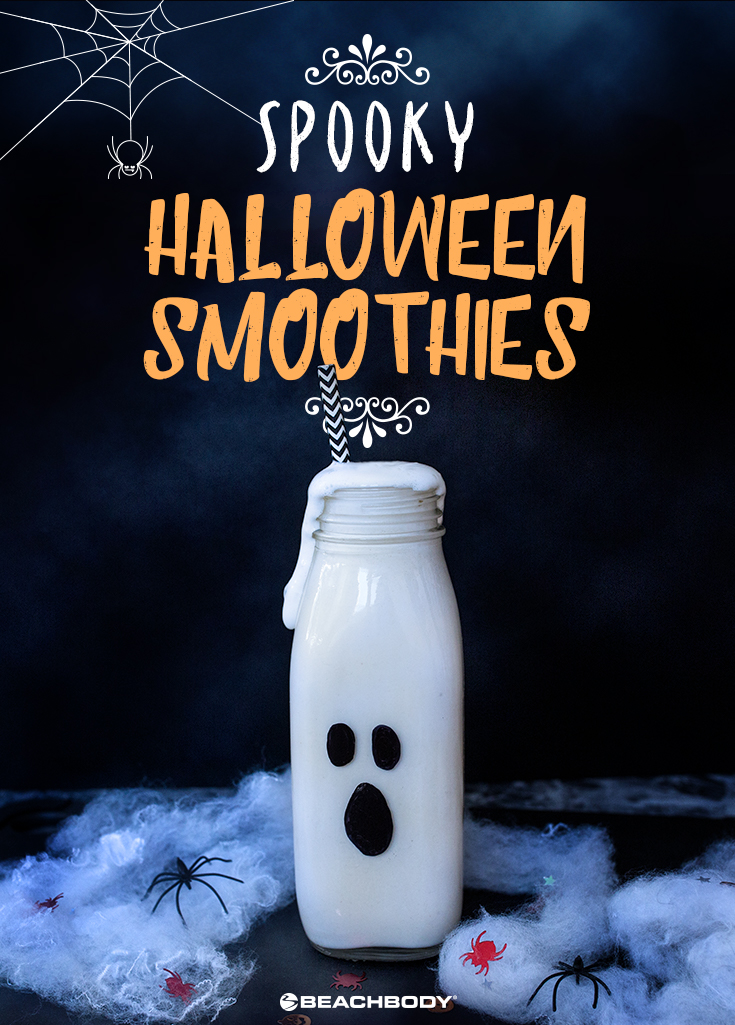 Looking for spook-tacular Halloween drinks? Our Shakeology smoothies are getting in on the haunted holiday fun with ghoulish costumes of their own.