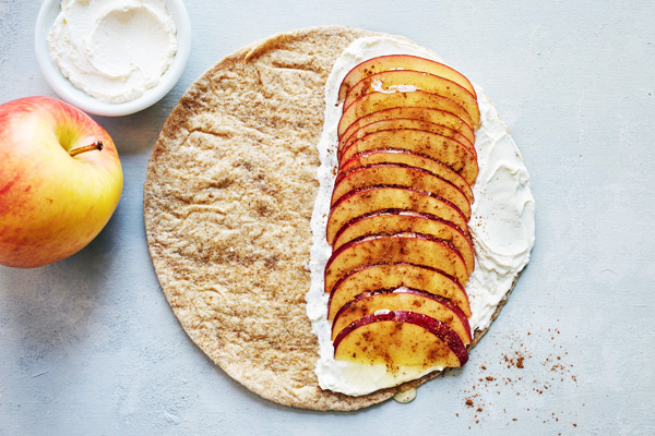 Apple Cinnamon quesadilla recipe