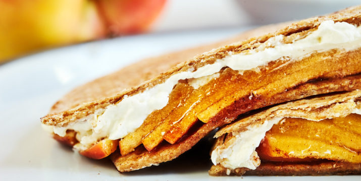 Apple Cinnamon Quesadilla