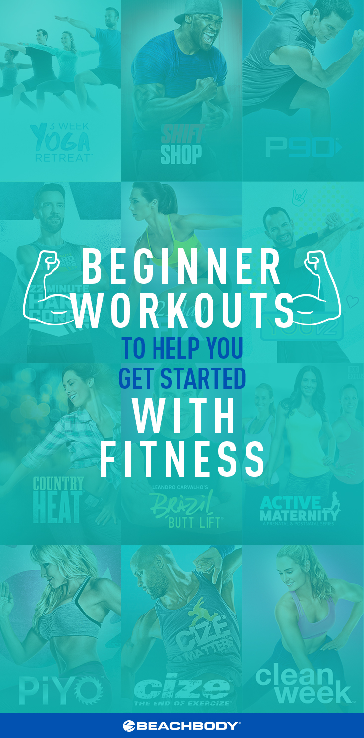 Ready to get fit but don't know where to start? Here are some of the best beginner workouts to make the process of getting in shape less daunting.