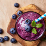 blueberry basil shakeology smoothie