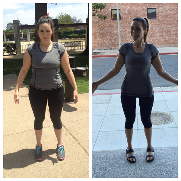 Ilana Muhlstein - Before and After Photo - 2B Mindset