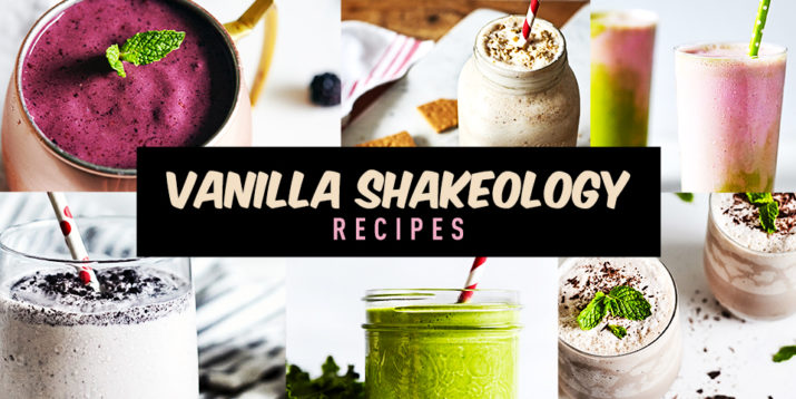 vanilla shakeology smoothie recipes roundup