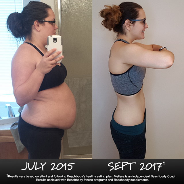 Melissa Johnson Lost 80 Pounds!