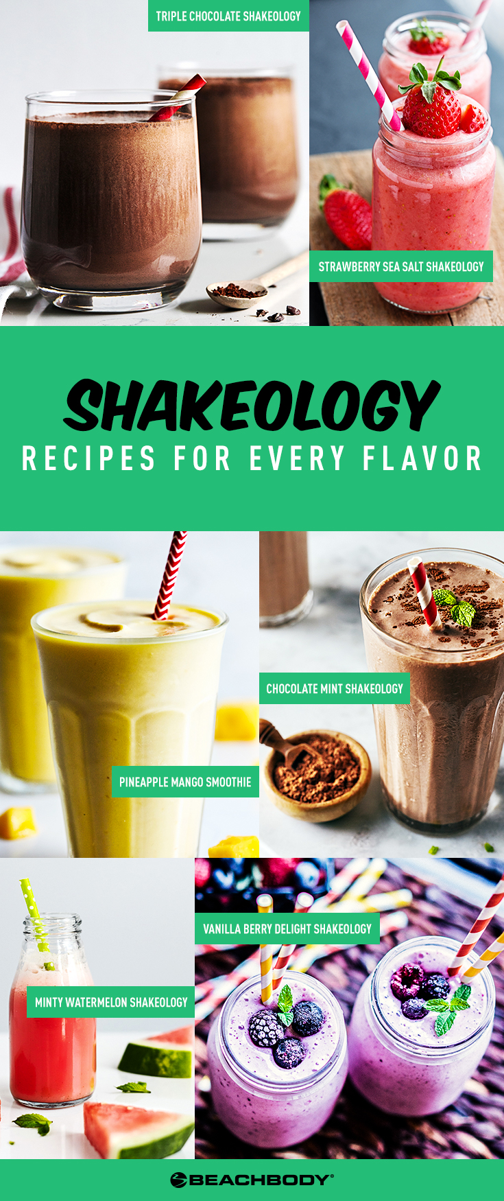 Shakeology Recipes for Every Shakeology Flavor