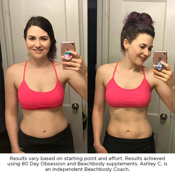 80 Day Obsession: Before and After Photos