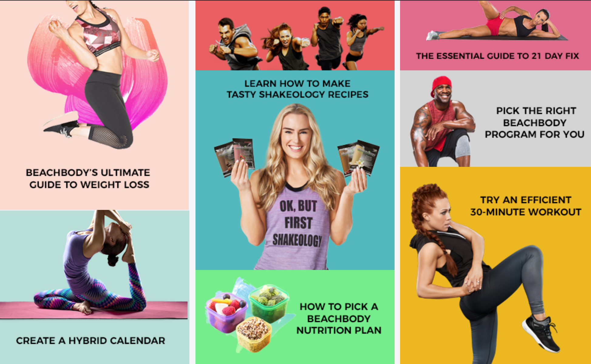 How Beachbody products and programs work together