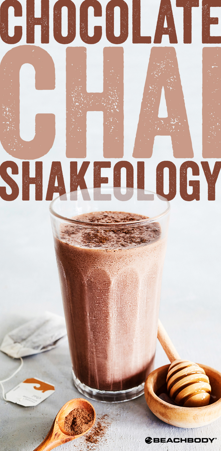 Chocolate Chai Shakeology smoothie recipe