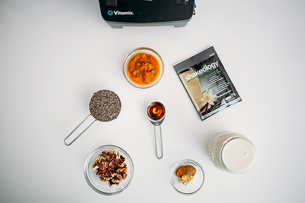 Vanilla Shakeology ingredients