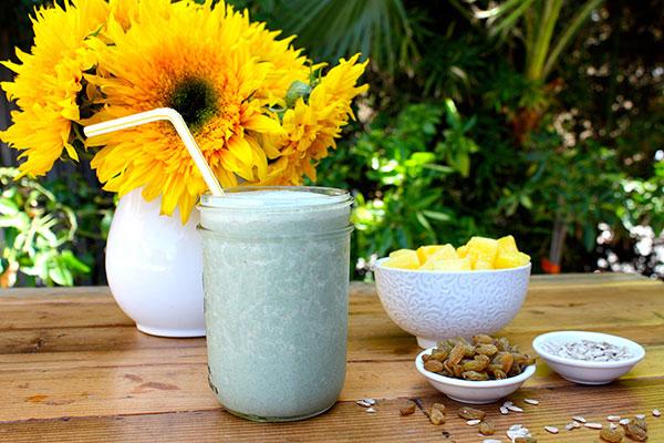 Sunflower Shake Healthy Breakfast Smoothies