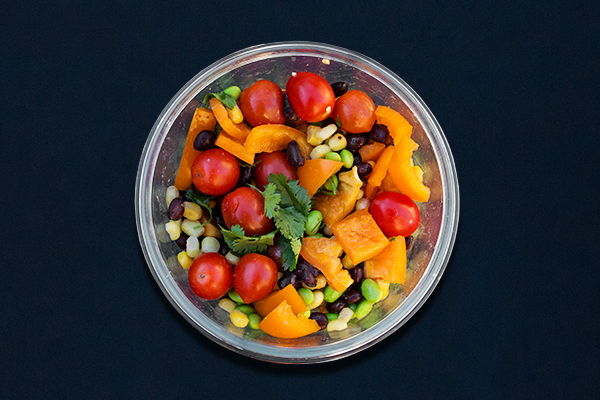 Post-Workout Meals for 80 Day Obsession, Vegan Black Bean Salad