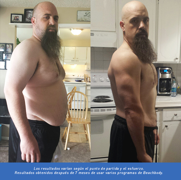 before and after team beachbody