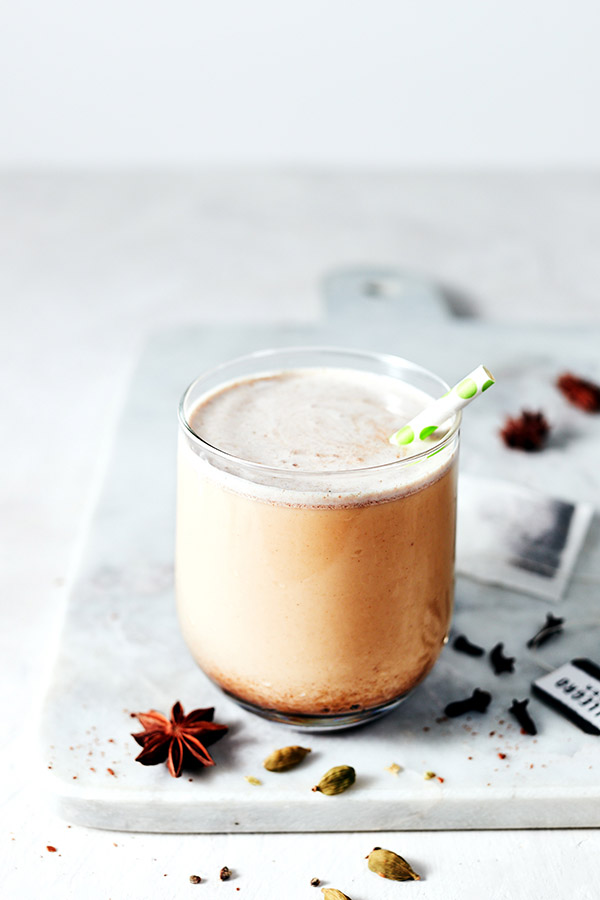 This refreshing Thai Iced Tea Shakeology smoothie features Thai spices like cloves, star anise, and cardamom blended with creamy Vanilla Shakeology.