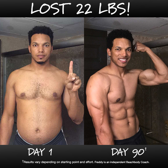 Freddy Acevedo Lost 22 Pounds